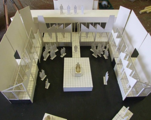 Technical Drawing & Project Management – Marat Sade Model