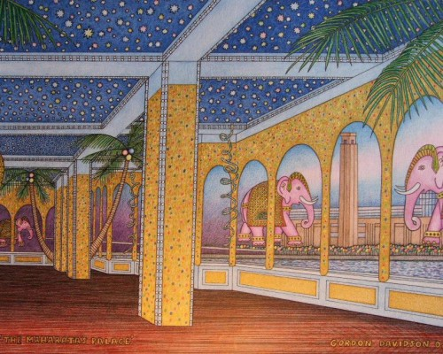 Party Theming – Arabian Party Design Board