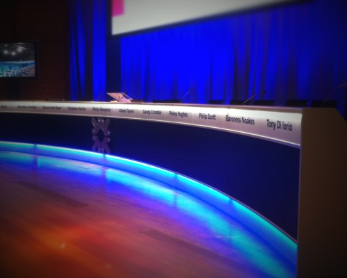 Conferencing & Corporate – RBS AGM – Curved Desk
