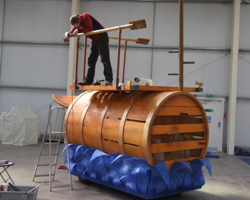 Finishing – Cargo Barrel-BHE