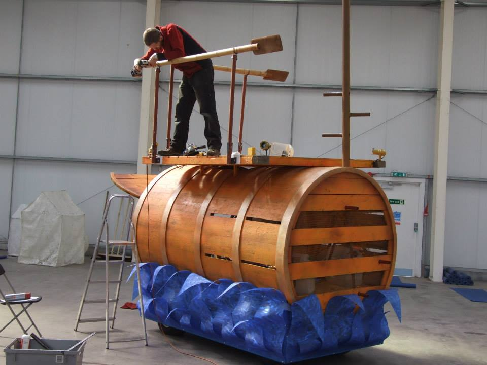Finishing-Cargo Barrel-BHE