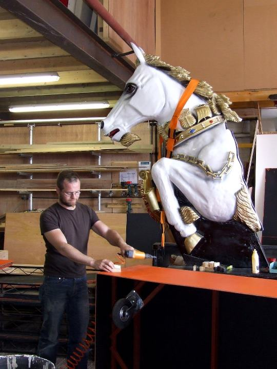 Props-Carnival Horse-BHE